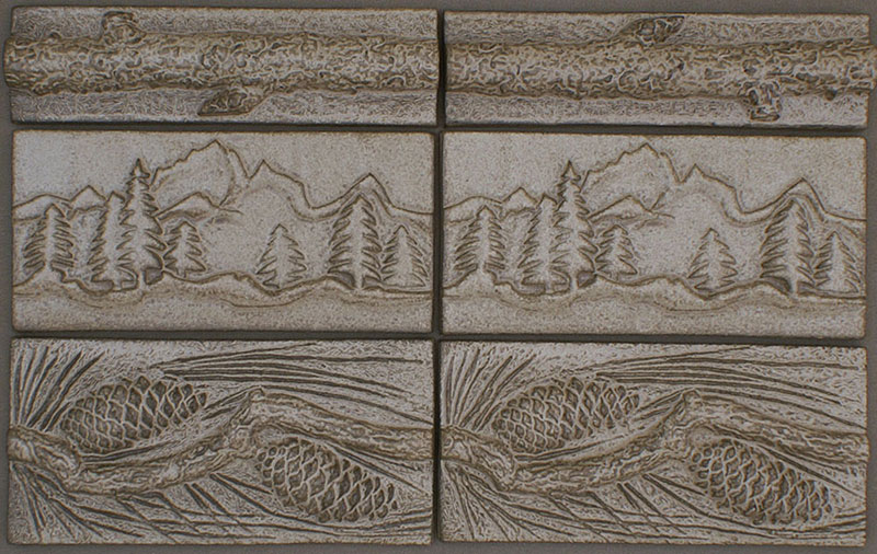 Kitchen Ceramic Tile Designs
