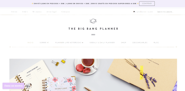 the big bang planner