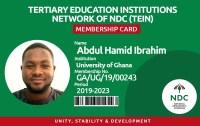 HO NTC TEIN STARTS MEMBERSHIP ID CARD REGISTRATION