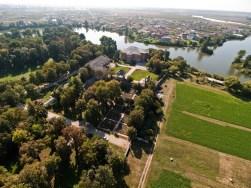Romania - Mogosoaia Palace - Aerial View