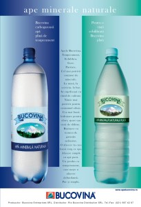 Bucovina - Still and carbonated water