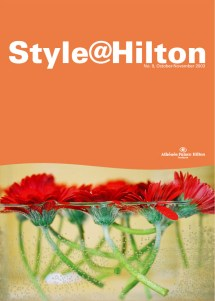 Style@Hilton Magazine - cover