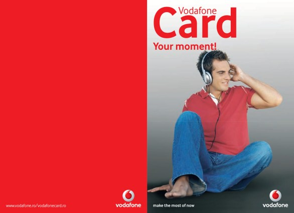 Vodafone - Card Brochure EN