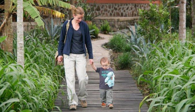 Miranda en Julian bij Kiboko Lodge