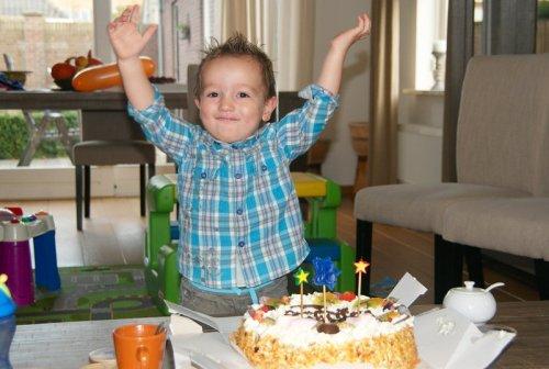 Julian's tweede verjaardag