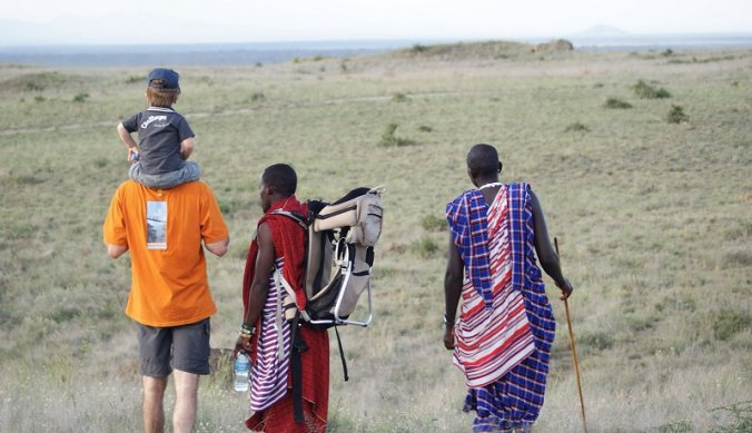 Wandeling met de Maasai warriors