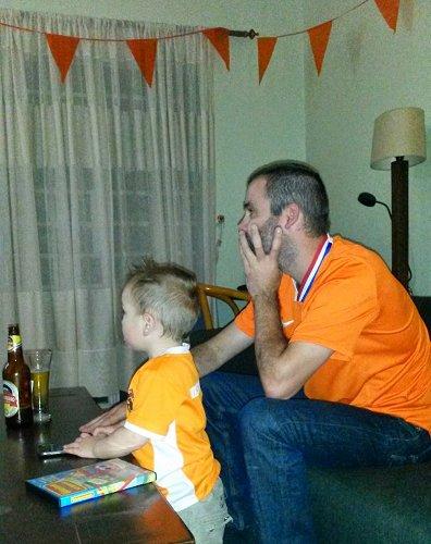 Oranje WK in Afrika