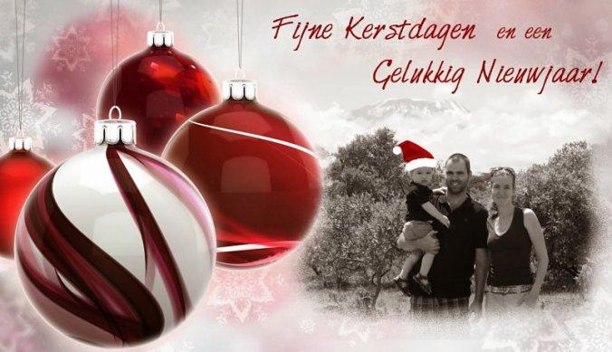 Fijne kerstsdagen en gelukkig 2015