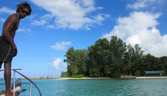 Boottocht naar Sainte Anne Marine National Park