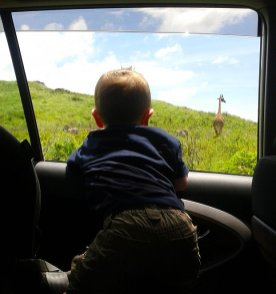 Julian in Arusha National Park
