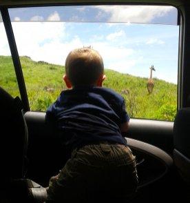 Julian in Arusha National Park