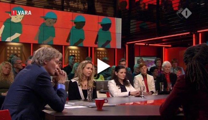 Sunny Bergman te gast bij de Wereld Draait Door