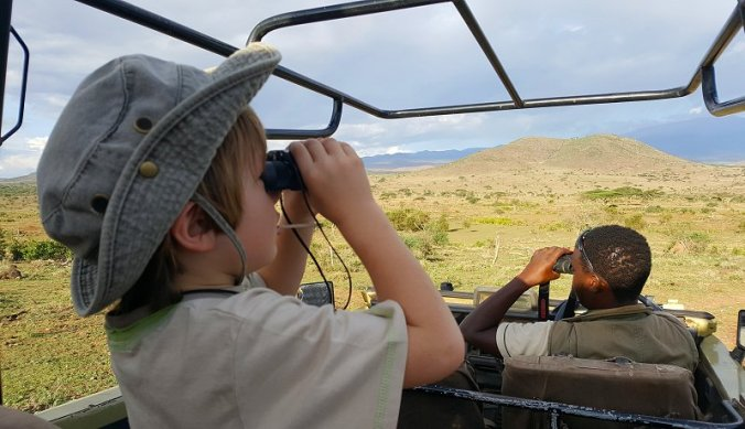 Wild spotten op Ndarakwai