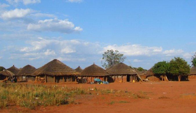 Dorpje in Noord-Oeganda