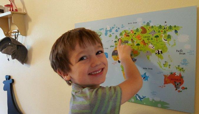 Volgende vakantiebestemming staat op de kaart