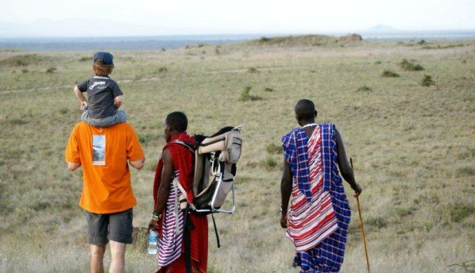 Wandeling met Maasai vanuit Masai Lodge Africa Amini