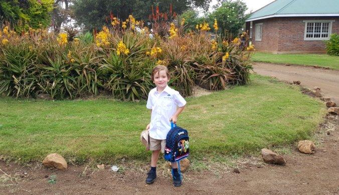 Klaar voor de eerste schooldag