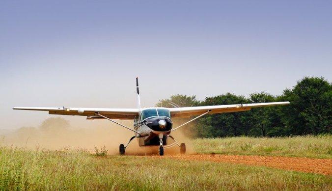Binnenlandse vlucht per Cessna Caravan vliegtuig