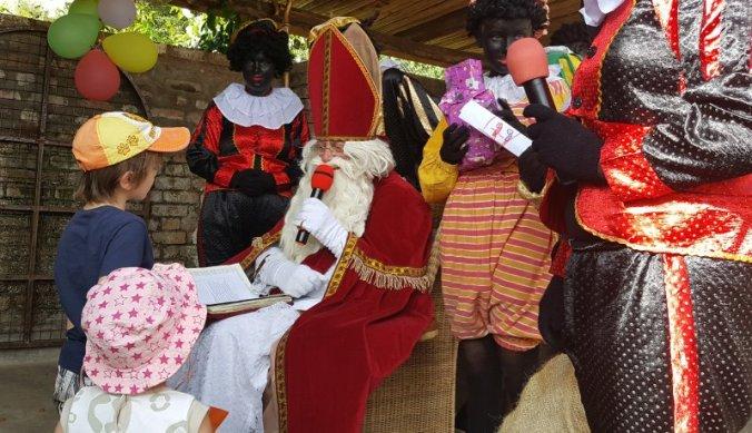 Bij Sinterklaas in Arusha