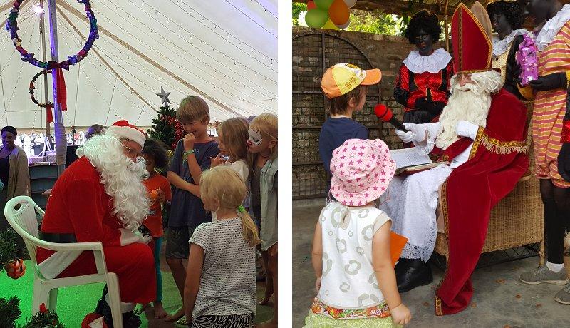 When Santa Claus meets Sinterklaas