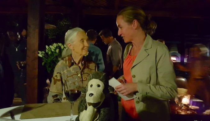 Persoonlijke ontmoeting met Jane Goodall in Arusha Tanzania