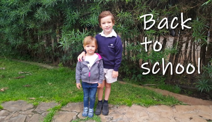 Samen weer terug naar school