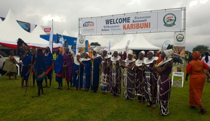 Welcome op de Karibu Kilifair Arusha