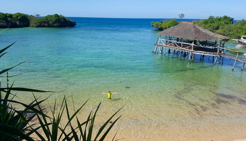 Verborgen stranden, zeesterren en mangrove