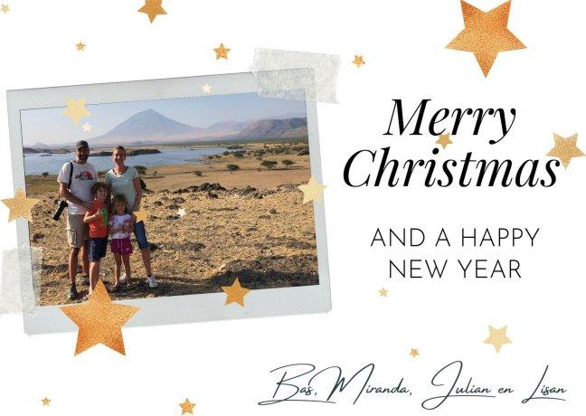 Fijne kerst en gelukkig nieuwjaar vanuit Tanzania