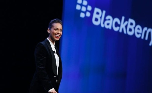 Direktur Blackberry Alycia Keys