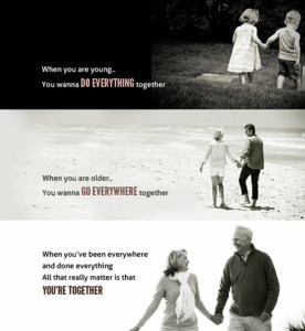 i wanna grow old with you - bluquote