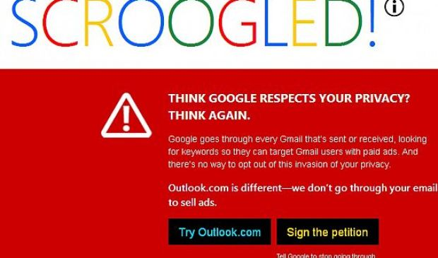 Don't Get Scroogled by Gmail