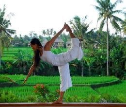 the yoga barn Ubud Bali
