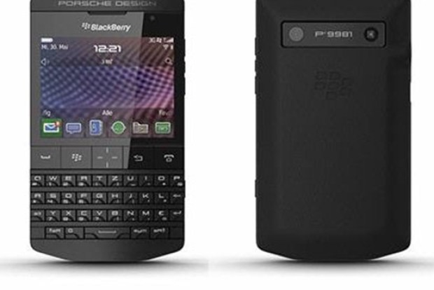 BlackBerry Porsche Hitam