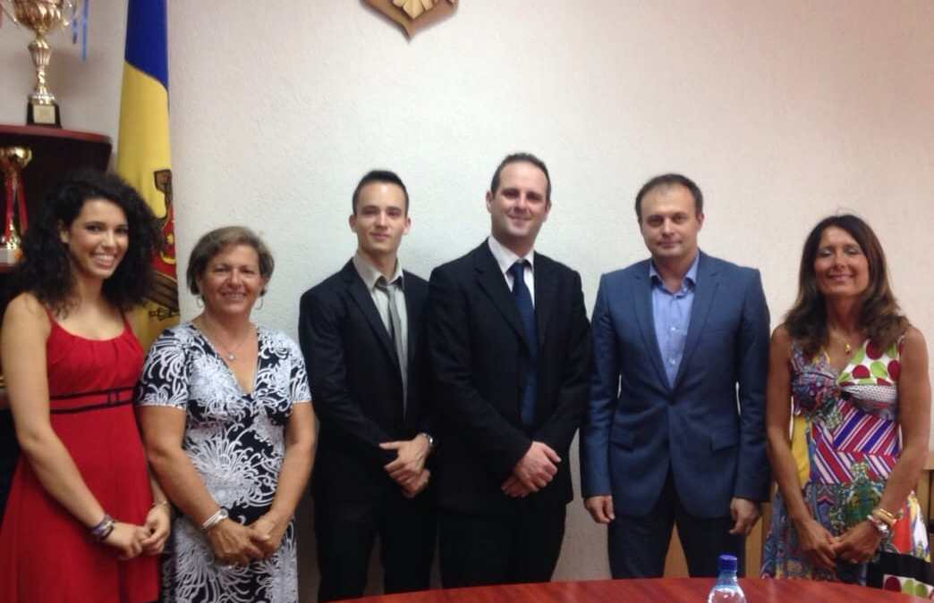 """Battilocchio: """"Gli studenti di Civitavecchia hanno incontrato Candu, neo Presidente del Parlamento moldavo"""""""