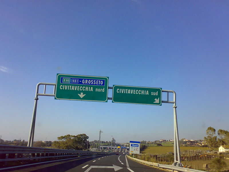 A12, giovedì notte chiusa Civitavecchia Sud