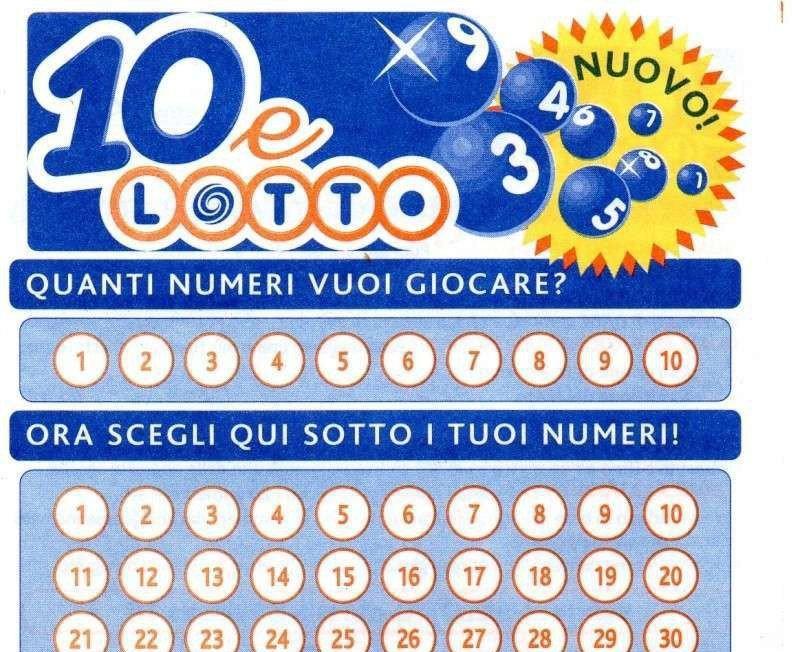10eLotto: vinti 20mila euro a Cerveteri