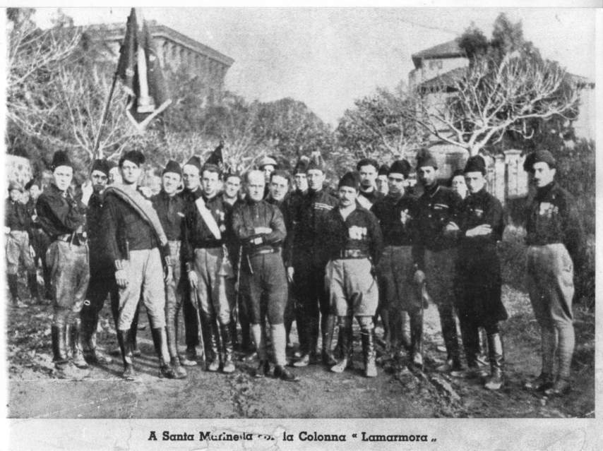 Civitavecchia e Santa Marinella tappe della Marcia su Roma del 1922