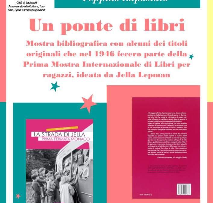 "Ladispoli, da lunedì 17 settembre a mercoledì 3 ottobre 2018 la mostra bibliografica ""UN PONTE DI LIBRI"""