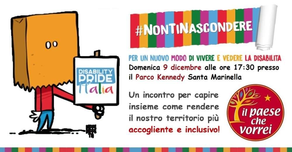 Santa Marinella, incontro de Il Paese Che Vorrei sui diritti dei disabili