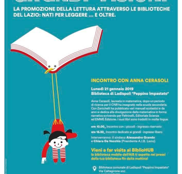 """Alla biblioteca di Ladipoli: """"Piccoli lettori grandi visioni"""""""