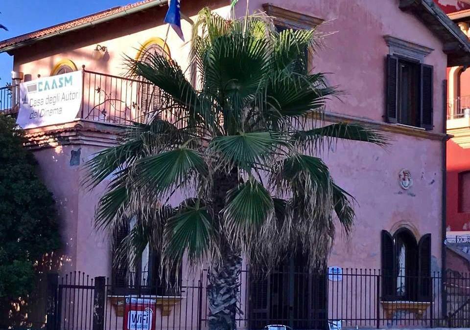 Santa Marinella, Angelo Fanton dice addio alla Casa degli Autori del Cinema