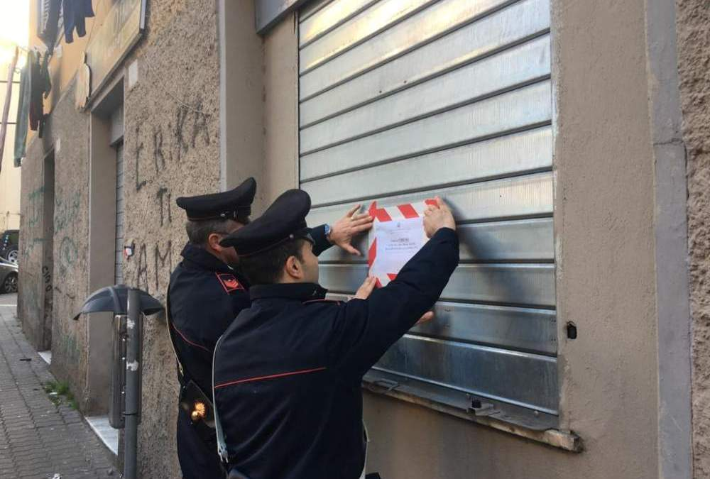 Polvere bianca nel panificio ma non è farina: i carabinieri chiudono un forno e denunciano il titolare