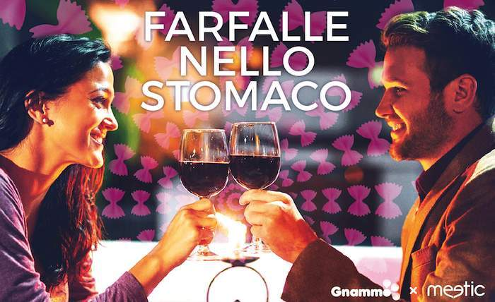 Farfalle nello stomaco, con Meetic e Gnammo cena per soli single