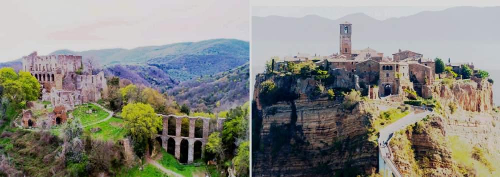 Monterano - Civita di Bagnoregio