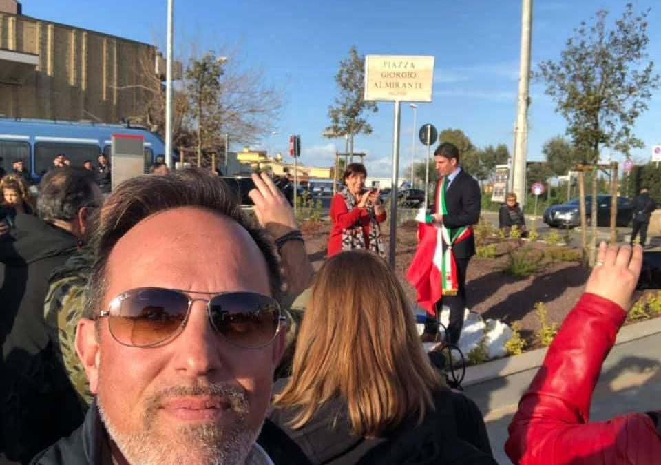 """Righini (FdI): """"A Ladispoli una piazza per Giorgio Almirante, apprezzamento per quanto fatto"""""""