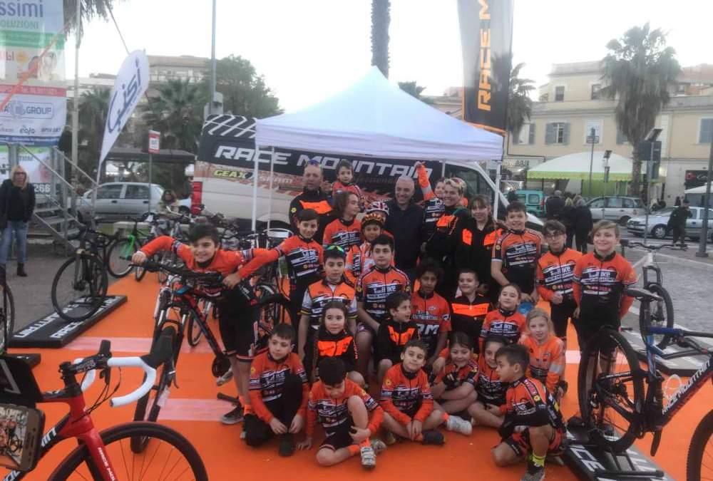 Grande prova del Team Bike Race Mountain Civitavecchia nel primo weekend di gare