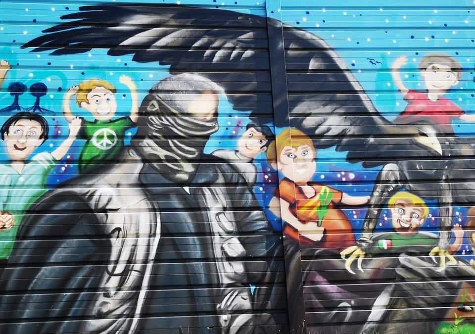 A Torraccia la street art colora la periferia: il Miglio d'Arte è un museo a cielo aperto