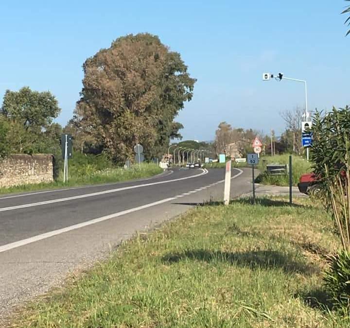 Tornano gli autovelox sull'Aurelia a Santa Severa