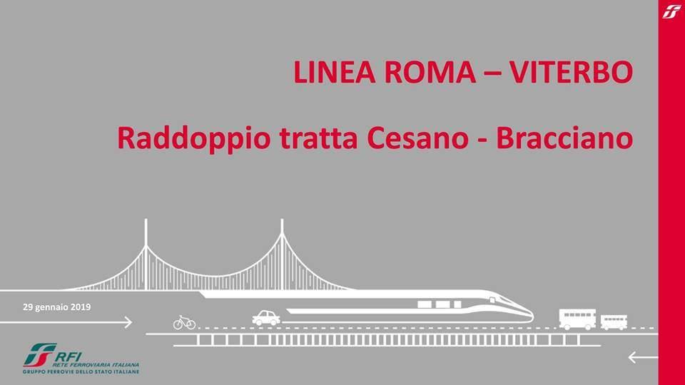 Raddoppio ferrovia Cesano- Vigna di Valle: opportunità e problematiche